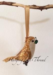 Hanging bird 1