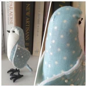 duck egg blue bird