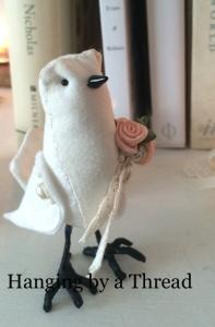 flower girl bird