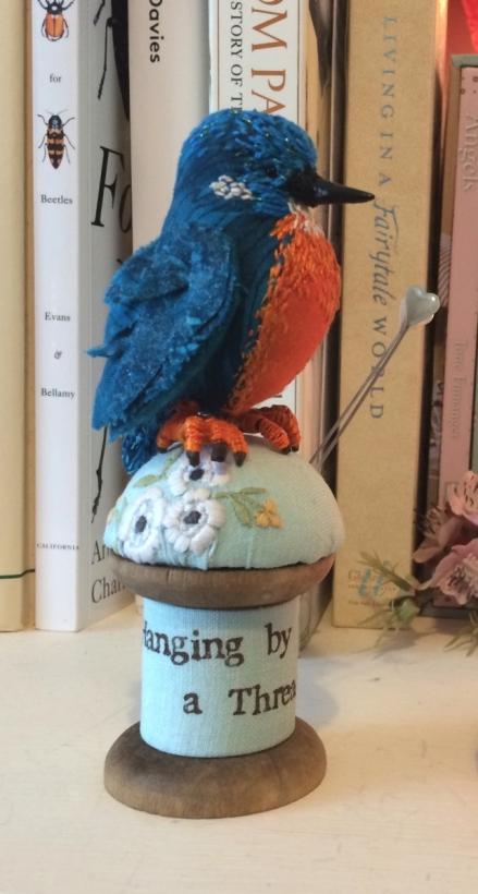 fabric textile bird material 3d