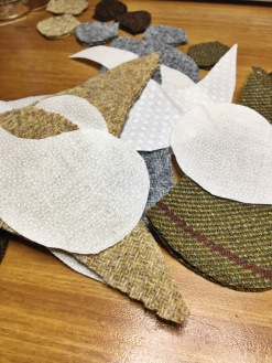 Harris Tweed Shapes