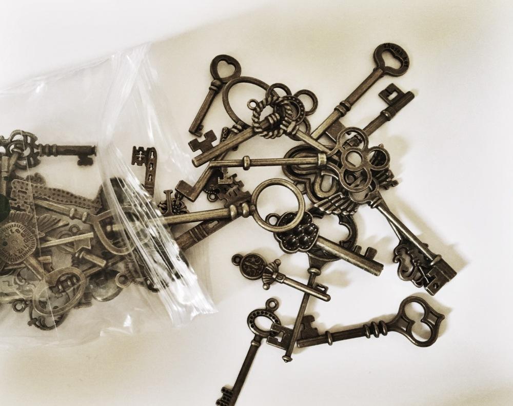 aged keys