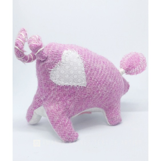 Harris Tweed Pig
